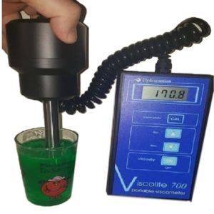Portable viscometer handheld viscosity meter