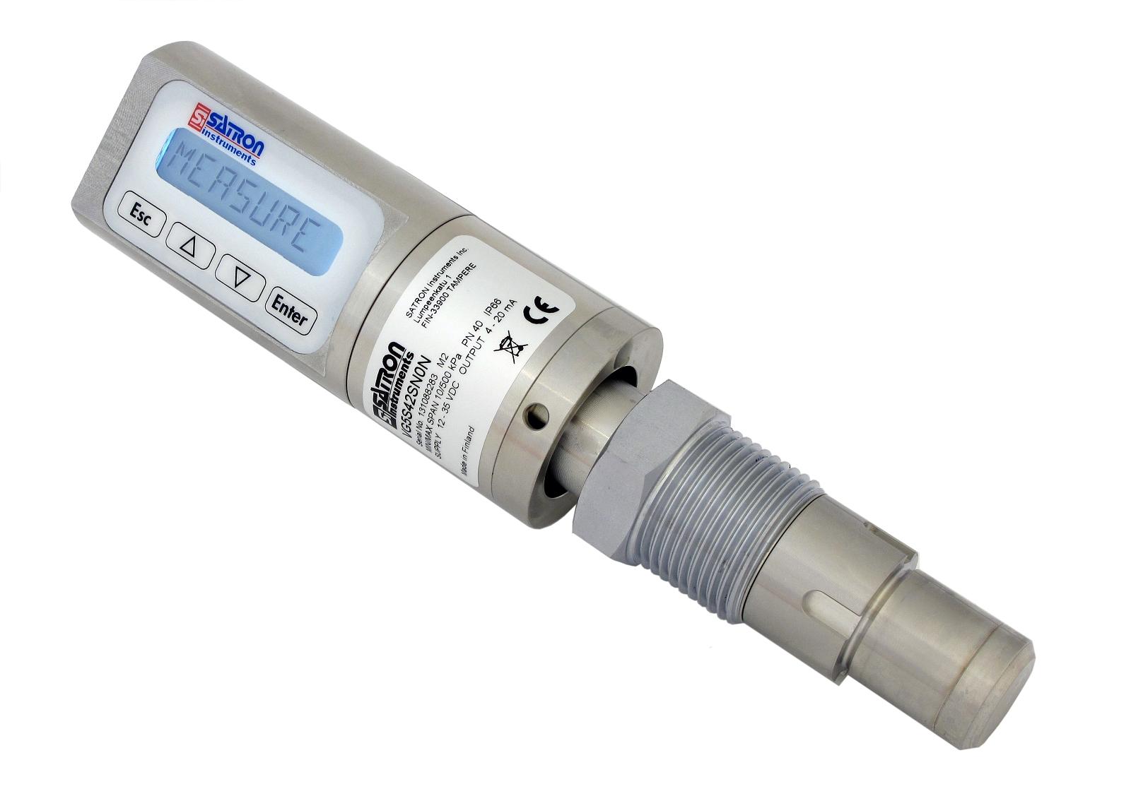 CIP dairy pressure sensor
